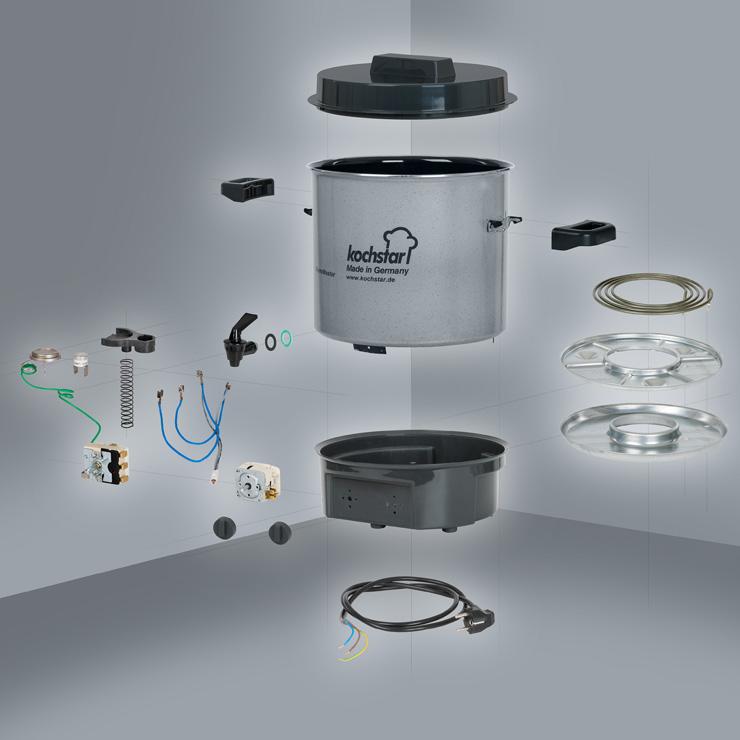 Ersatzteile Warmmaster | Kochstar Onlineshop - Merten & Storck GmbH